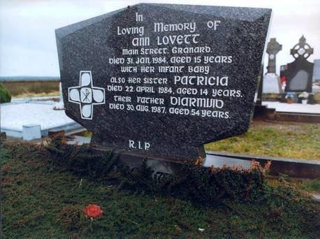 Ann Lovett The life and death of Ann Lovett is a tragedy that haunts