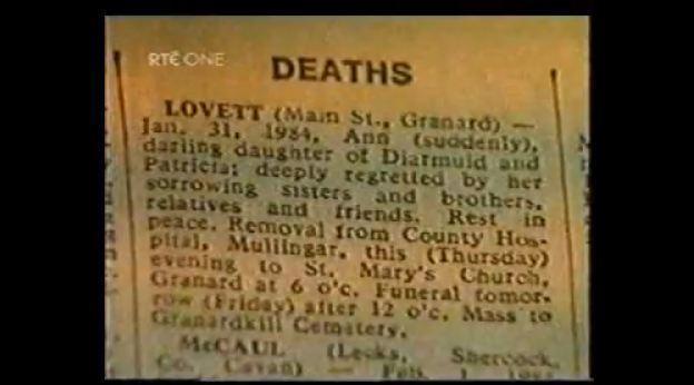 Ann Lovett Forgetting Ann Lovett Broadsheetie