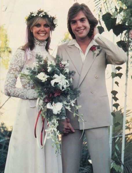 Ann Pennington (model) SHAUN CASSIDY pinup on wedding day with ANN PENNINGTON ZTAMS ZTAMS