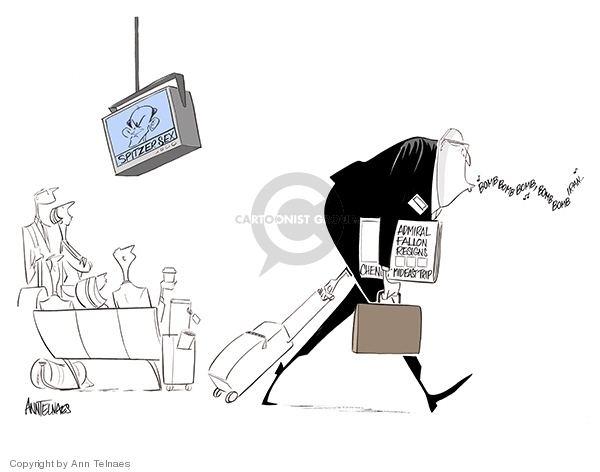 Ann Telnaes Ann Telnaes Editorial Cartoons Secrecy Comics And Cartoons The