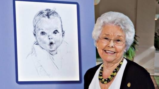 Ann Turner Cook Ann Turner Cook the original face of the Gerber Baby