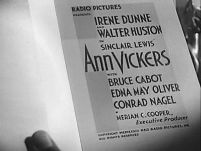 Ann Vickers (film) Streamline The Official Filmstruck Blog ANN VICKERS Social