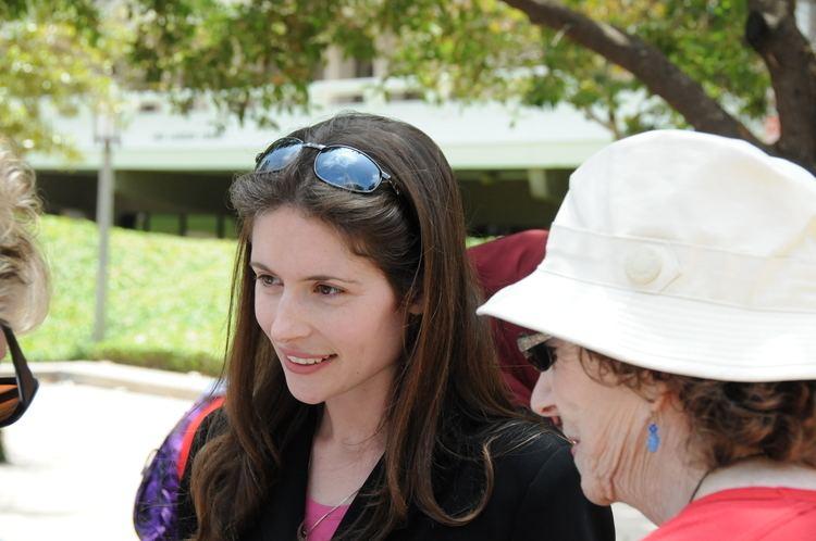 Anna Baltzer UCIspace the Libraries Anna Baltzer speaking with