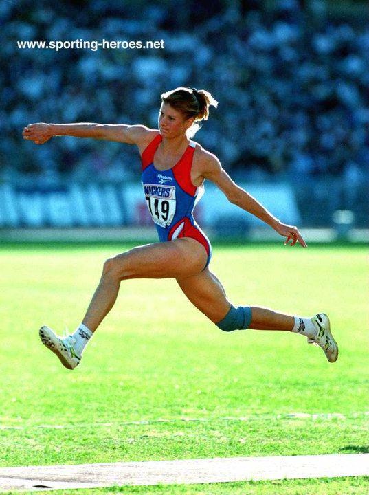 Anna Biryukova Anna BIRYUKOVA 1993 World Champion with World TJ record Russia