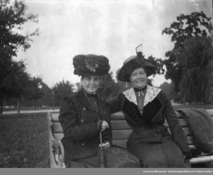 Anna Charlier Auntie Agnes Strindberg o Anna CharlierHawtrey Grenna Museum