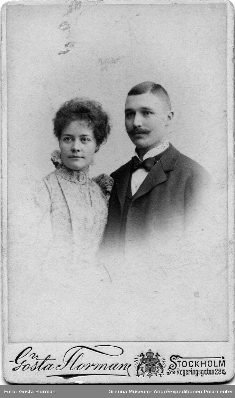 Anna Charlier Anna Charlier och Nils Strindberg frlovningsbilden Grenna
