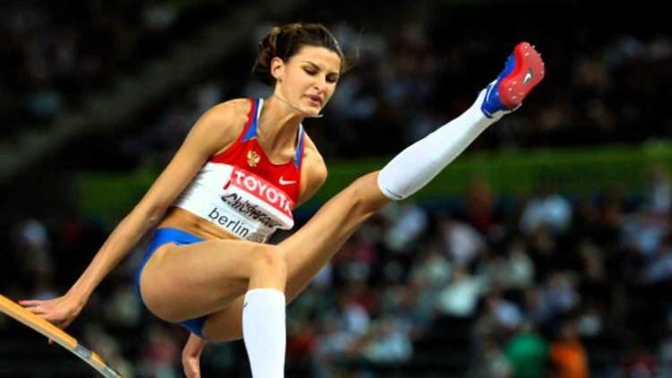 Anna Chicherova Anna Chicherova wins High Jump Gold for Russia Olympics