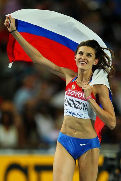 Anna Chicherova Anna Chicherova Photos 13th IAAF World Athletics
