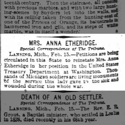 Anna Etheridge Annie Etheridge