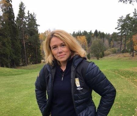 Anna Gyllander Anna Gyllander ny Klubbchef Nacka Golfklubb