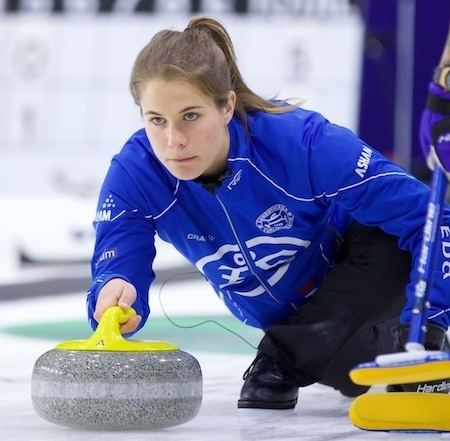 Anna Hasselborg Hasselborg replacing Sidorova at 2017 WFG Continental Cup Curling