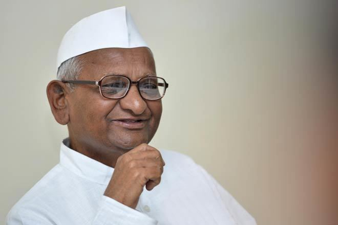 Anna Hazare Anna Hazare enters Delhi Assembly polls fray to campaign