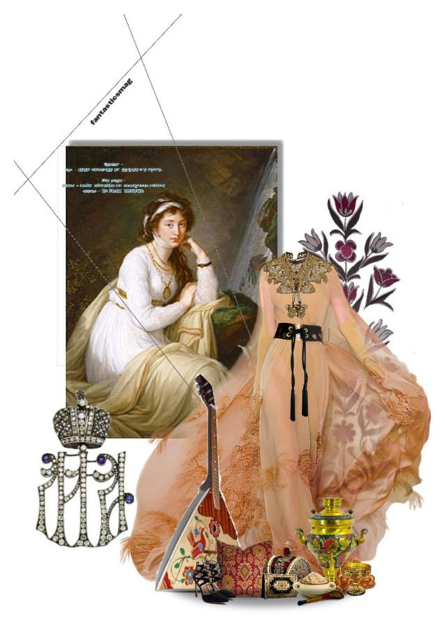 Anna Ivanovna Baryatinskaya Tolstoy Countess Anna Ivanovna Baryatinskaya Tolstoy by sh0shan liked on