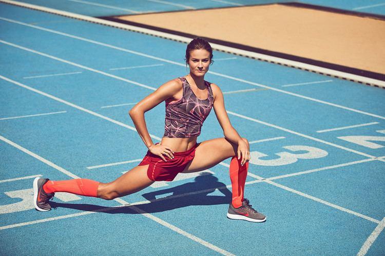 Anna Jagaciak-Michalska Anna JagaciakMichalska Na zawodach lubi dobrze wyglda