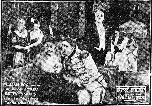 Anna Karenina (1915 film) movie poster