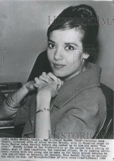 Anna Kashfi 19902004 quotBrando39s Affairquot Family drama and Death of
