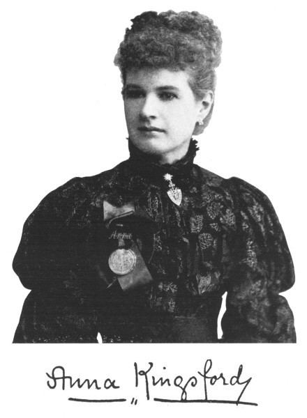 Anna Kingsford Strange Company Anna Kingsford Psychic Assassin