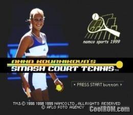Anna Kournikova's Smash Court Tennis Anna Kournikova39s Smash Court Tennis Europe ROM ISO Download for
