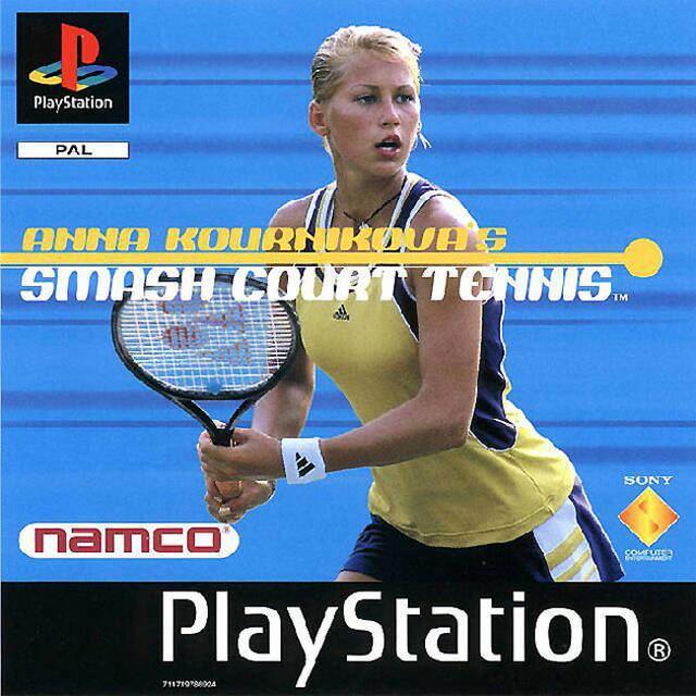 Anna Kournikova's Smash Court Tennis - Alchetron, the free social