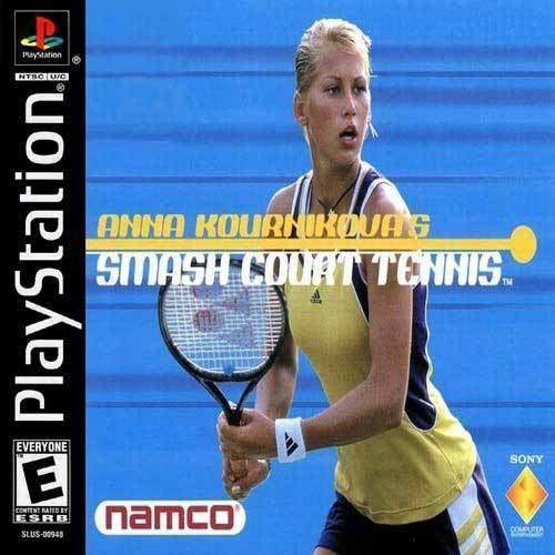 Anna Kournikova's Smash Court Tennis wwwpsxbuzzbizlandcomgpgsssBT0042BT0042Fjpg