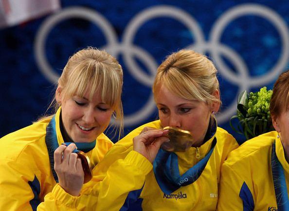 Anna Le Moine Anna Le Moine and Kajsa Bergstroem Photos Olympic