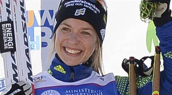 Anna Magnusson Anna Magnusson tog sin bsta placering i vrldscupen Skidskytte