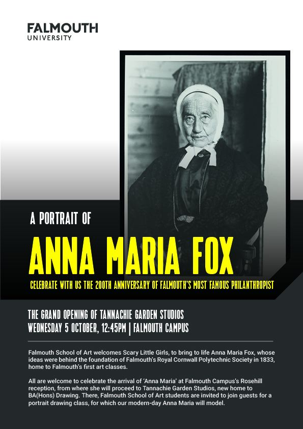 Anna Maria Fox Celebrating the legacy of Anna Maria Fox Falmouth School of Art