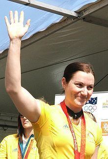 Anna Meares Anna Meares Wikipedia the free encyclopedia