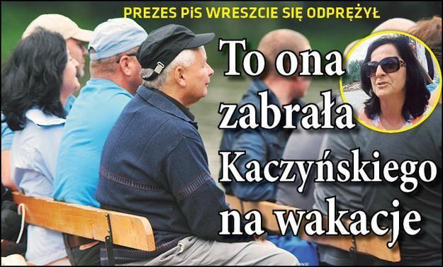Anna Paluch Posanka Anna Paluch namwia prezesa Kaczynskiego na