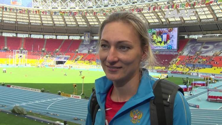 Anna Pyatykh Moscow 2013 Anna PYATYKH RUS Triple Jump Women Qual