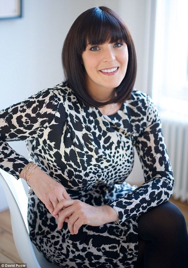 Anna Richardson Emotional ties with writer and TV presenter Anna