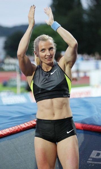 Anna Rogowska Anna Rogowska Pictures Lolo Jones at the Track and Field