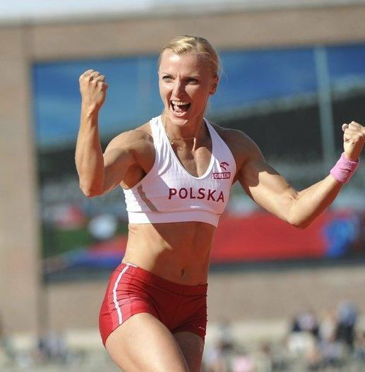 Anna Rogowska Lekkoatletyka M w Daegu Anna Rogowska powalczy o zoto