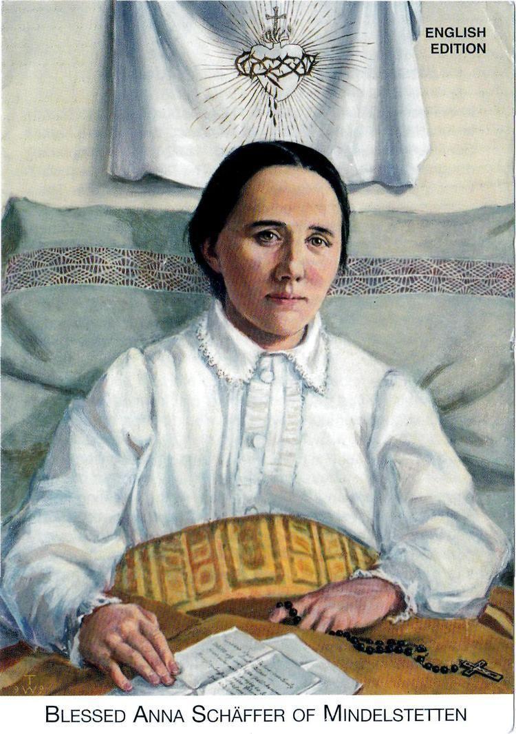 Anna Schäffer Following The Shepherds Voice Blessed Anna Schffer