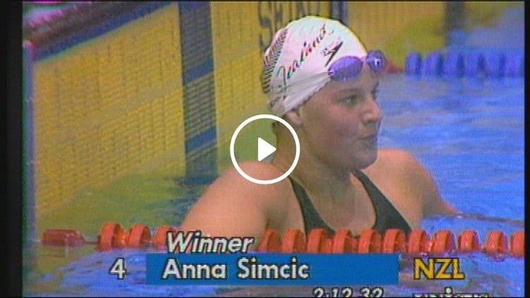 Anna Simcic Gold for Simcic When Anna Simcic became New Zealands golden girl