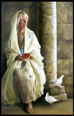 Anna the Prophetess Women in the Scriptures Anna