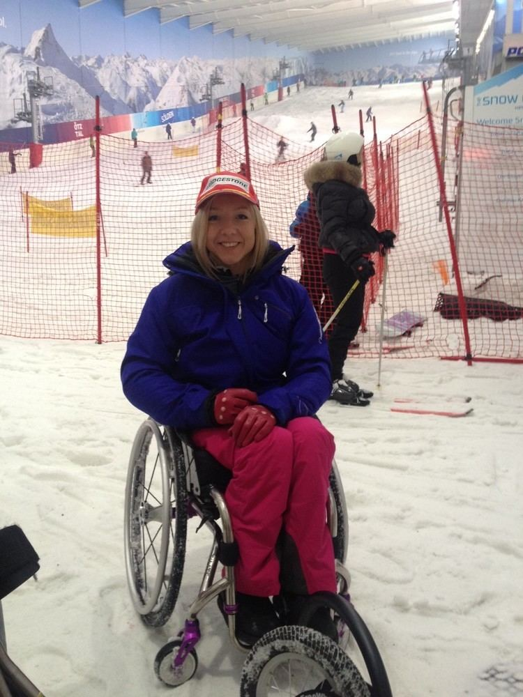 Anna Turney Inspiring News from The Snow Centre Vanessa Fisher