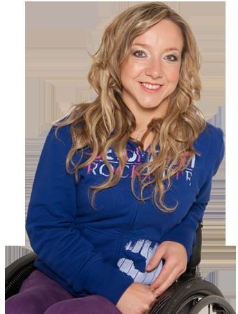 Anna Turney Gold package Anna Turney Paralympic Skier