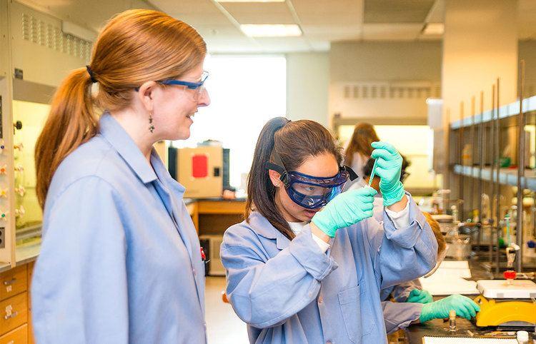 Anna Wenzel CMC chemistry Prof Anna Wenzel receives mentorship grant to support