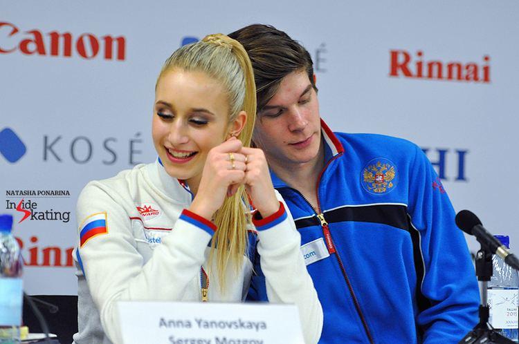 Anna Yanovskaya Anna Yanovskaya and Sergey Mozgov danced their way to the gold in