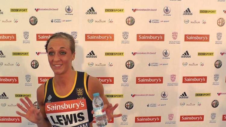 Annabelle Lewis British Trials Interview with Annabelle Lewis 100m Heat