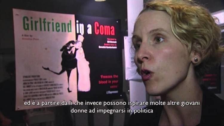 Annalisa Piras Backstage London Premiere of Bill Emmott39s quotGirlfriend in
