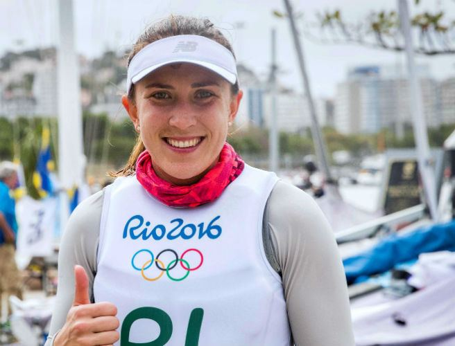 Annalise Murphy Annalise Murphy in excellent position after four races in Rio