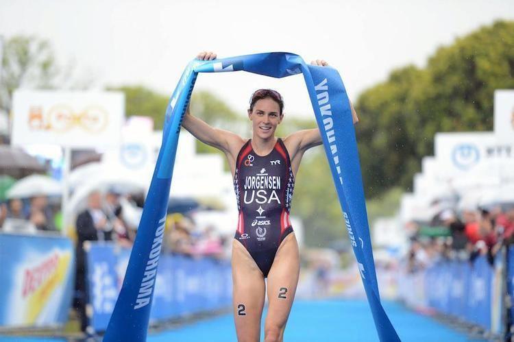 Annamaria Mazzetti Triathlon World Series Jorgensen centra la decima