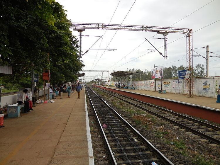 Annanur railway station