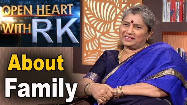 Annapoorna (actress) Senior Actress Annapurna about Family Andhrawatch