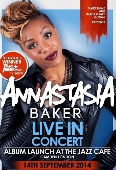 Annastasia Baker Time2Shine Winner 2013 Annastasia Baker MOBO Awards