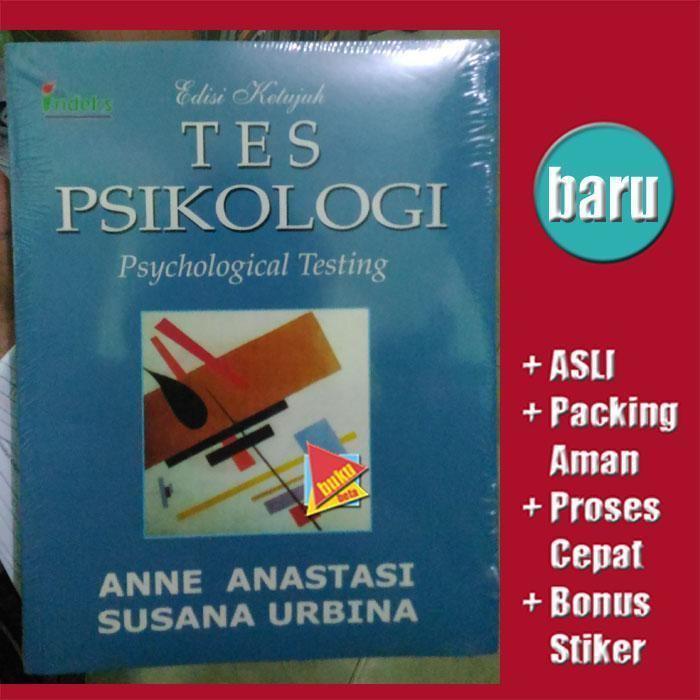 Anne Anastasi Jual Beli Tes Psikologi Edisi 7 Anne Anastasi Susana Bukalapak