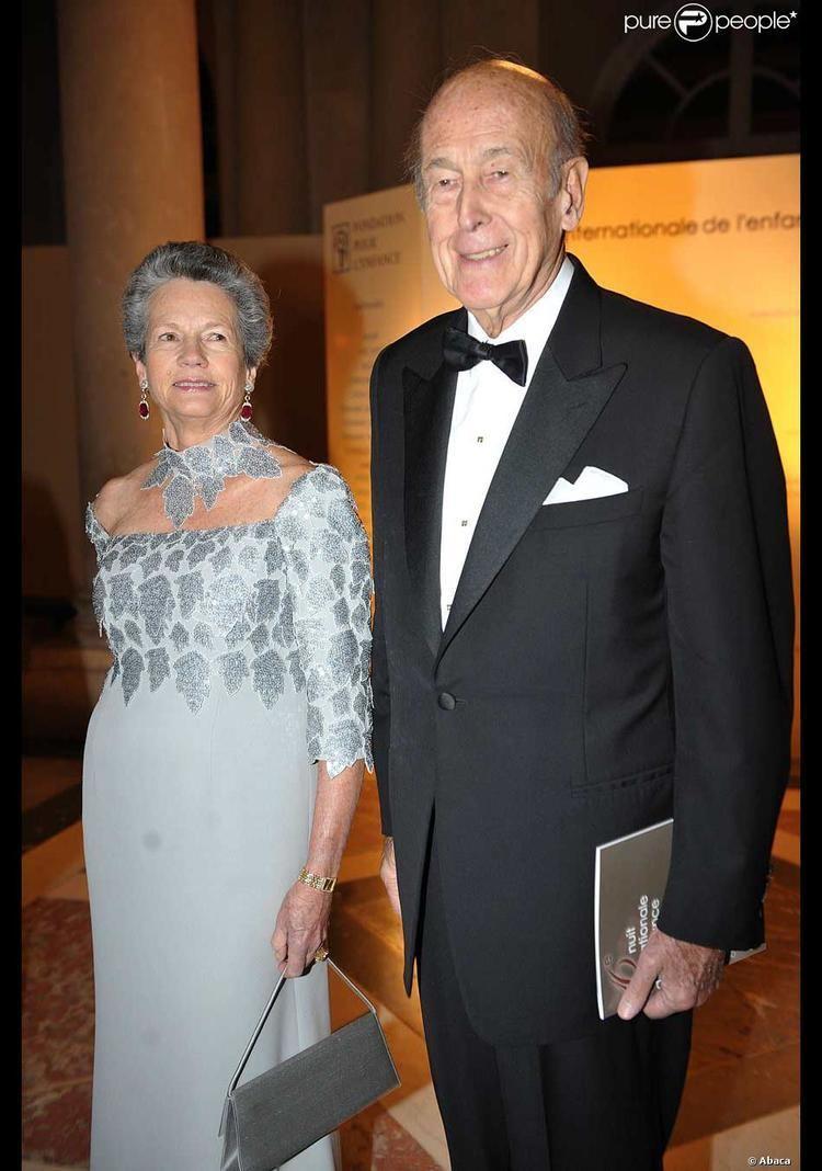 Anne-Aymone Giscard d'Estaing Valry Giscard d39Estaing et son pouse AnneAymone