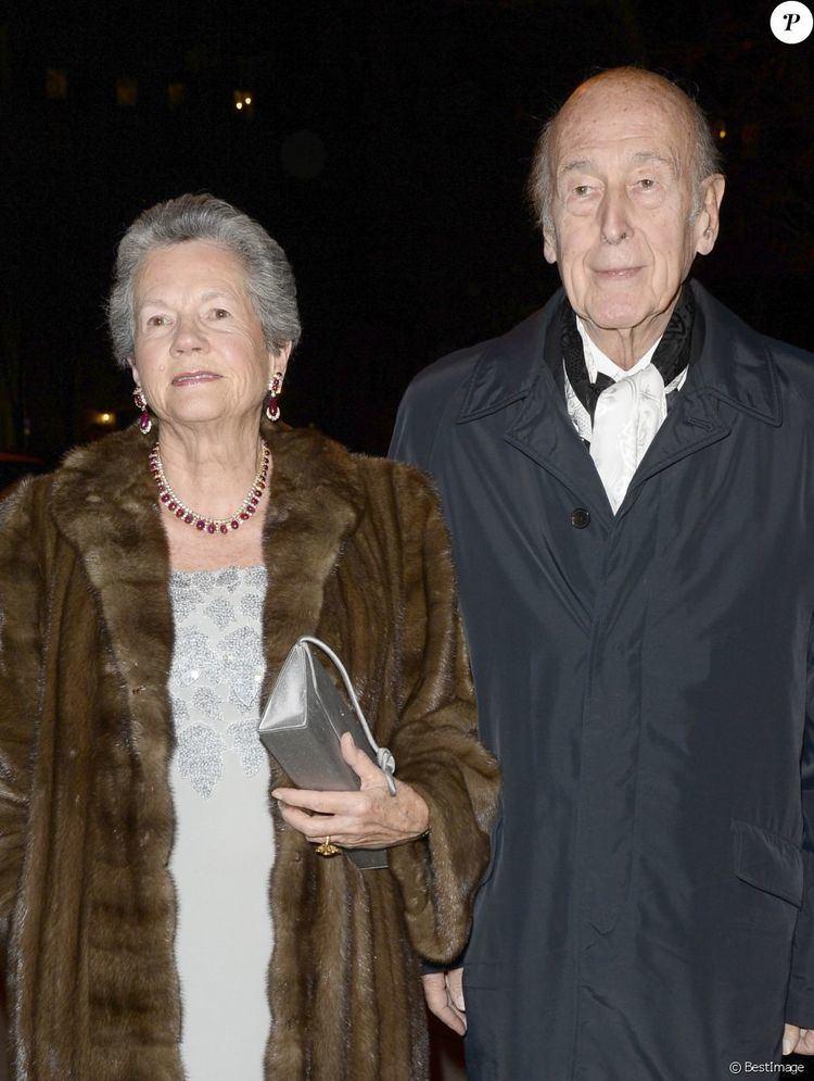 Anne-Aymone Giscard d'Estaing Valery Giscard d39Estaing et sa femme AnneAymone Giscard d39Estaing